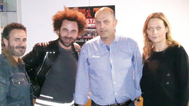 José Garcia, Nicolas Benamou, Caroline Vigneau